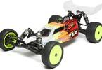 TLR 22 4.0 1:10 2WD Race Buggy Kit: Pohled na auto