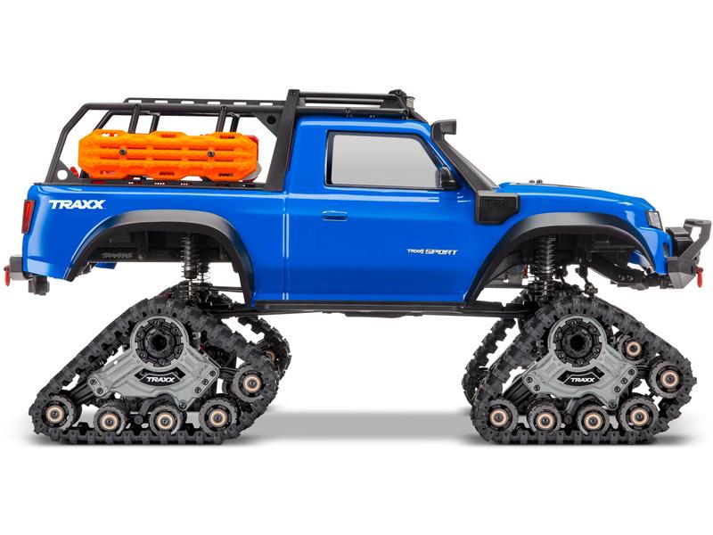 1:10 Traxxas TRX-4 Traxx RTR (oranžový)