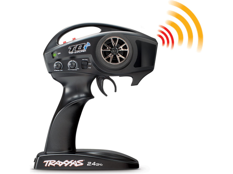 Traxxas Transmitter Tqi Traxxas Link Enabled 2 4ghz 2 Channel Transmitter Only Tra6528 Astra