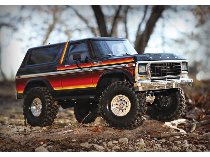 1:10 Traxxas TRX-4 Ford Bronco TQi RTR Sunset