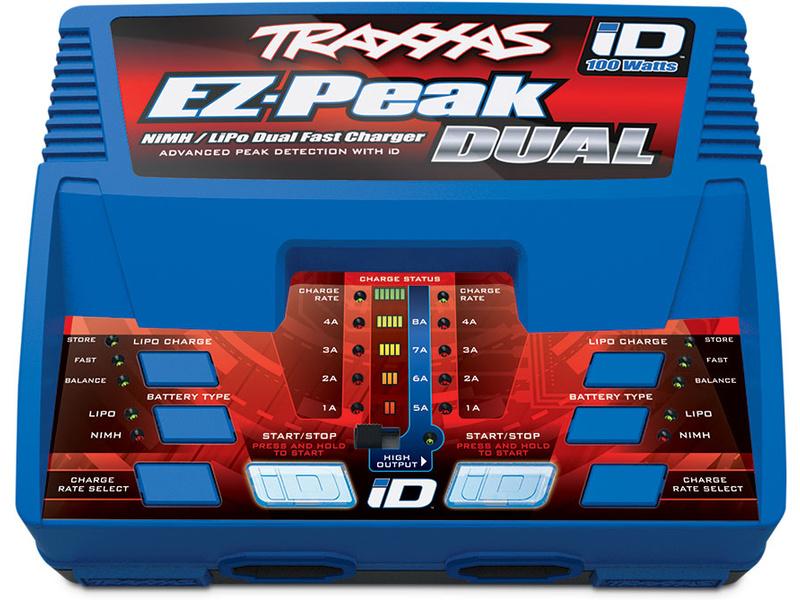 Traxxas nabíječ EZ-Peak Dual LiPo/NiMH 2x50W