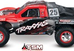 RC model auta Traxxas Slash VXL TSM: #25Mike Jenkins - pohled z boku