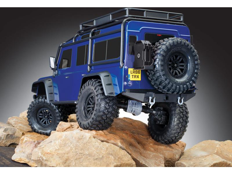 Traxxas TRX-4 Land Rover Defender 1:10 TQi RTR modrý