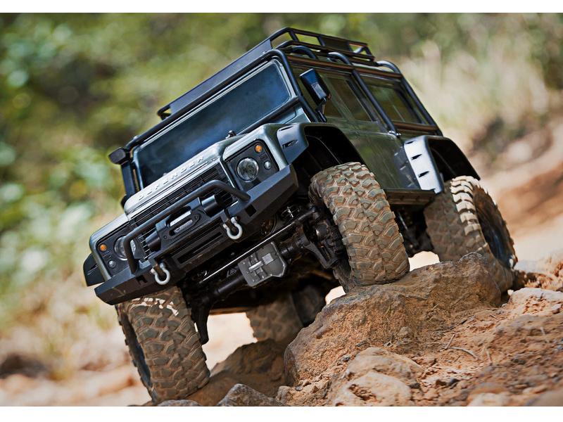 Traxxas TRX-4 Land Rover Defender 1:10 TQi RTR zelený