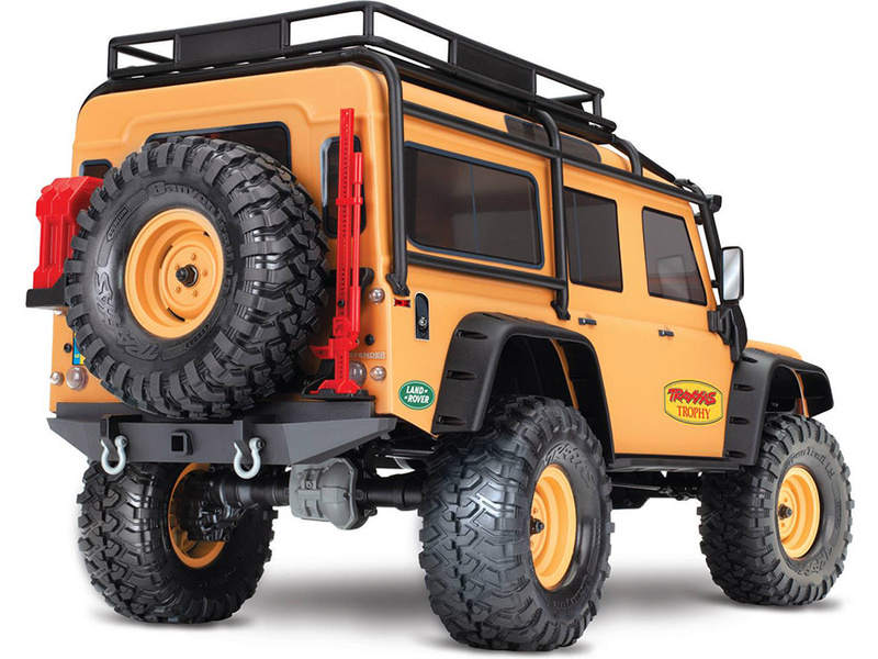1:10 Traxxas TRX-4 Land Rover Defender TQi RTR Trophy