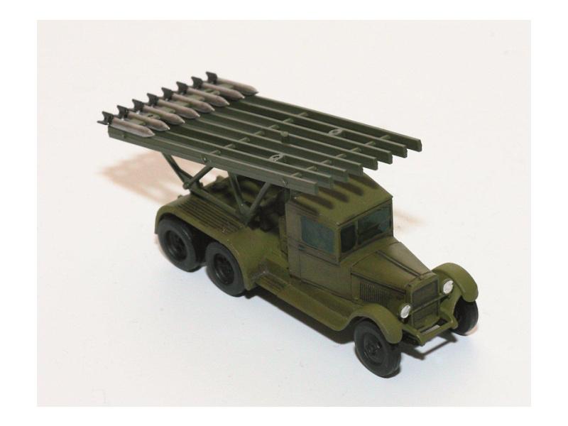 Zvezda Snap Kit - BM-13 Kaťuša (1:100)