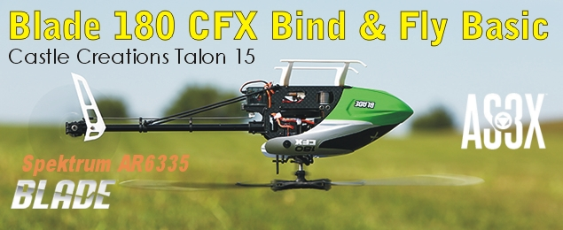Blade 180 CFX Bind & Fly Basic