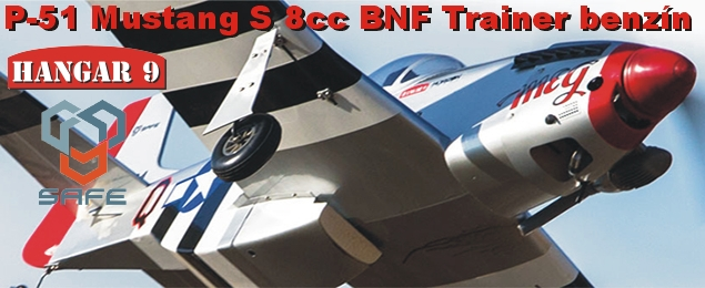 P-51 Mustang 8cc SAFE BNF