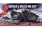 Airfix Buffalo Willys MB Jeep (1:76) (Vintage)
