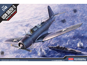 Academy Vought SB2U-3 Battle of Midway (1:48) / AC-12324