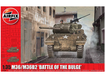 Airfix M36/M36B2 Battle of the Bulge (1:35) / AF-A1366