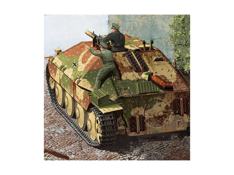 Academy Jagdpanzer 38(t) Hetzer pozdní verze (1:35)