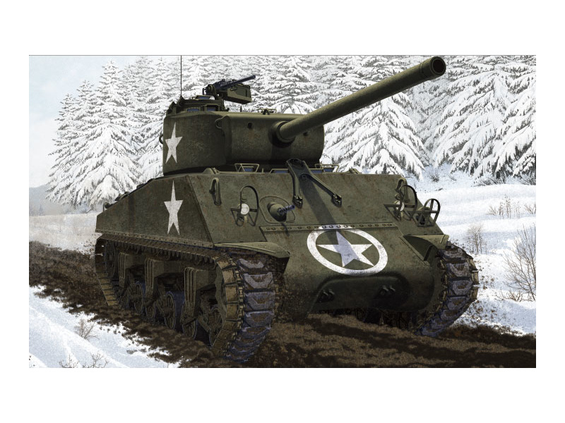 Academy M4A3 (76)W Battle of Bulge (1:35)