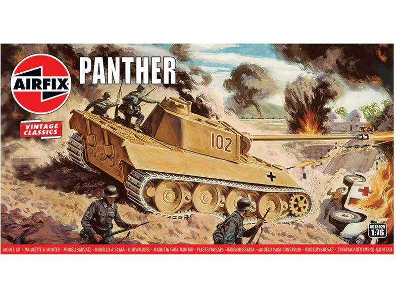 Airfix Panther (1:76) (Vintage)