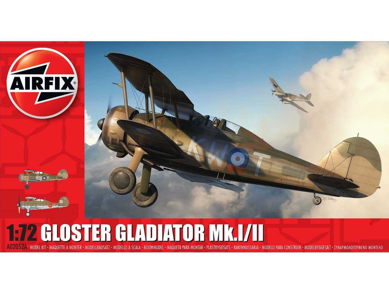 Airfix Gloster Gladiator Mk.I/Mk.II (1:72)