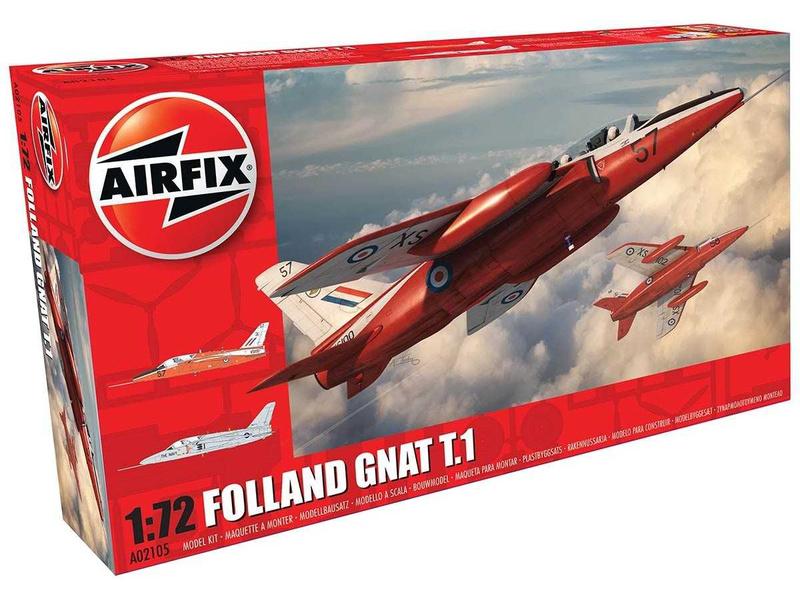 Airfix Folland Gnat T.1 (1:72)
