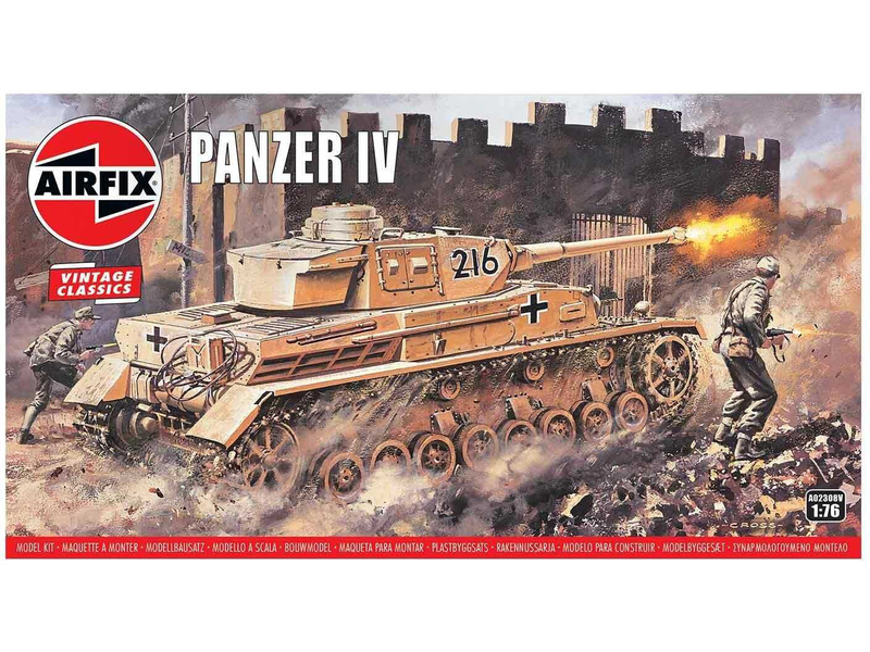 Airfix Panzer Tank IV (1:76) (Vintage)