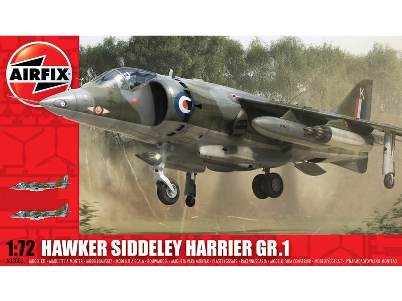 Airfix Hawker Siddeley Harrier GR1 (1:72)