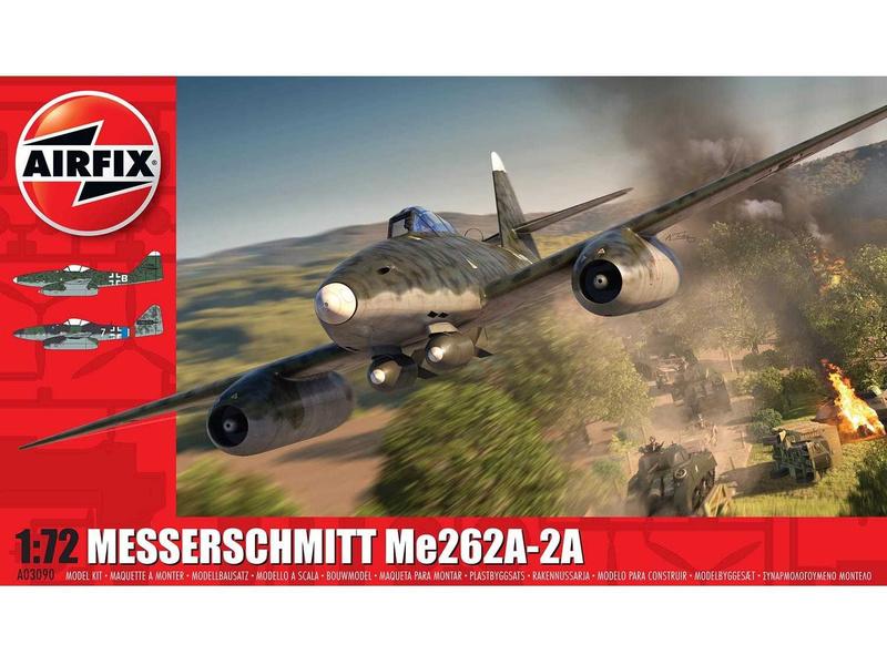 Airfix Messerschmitt Me262A-2A (1:72)