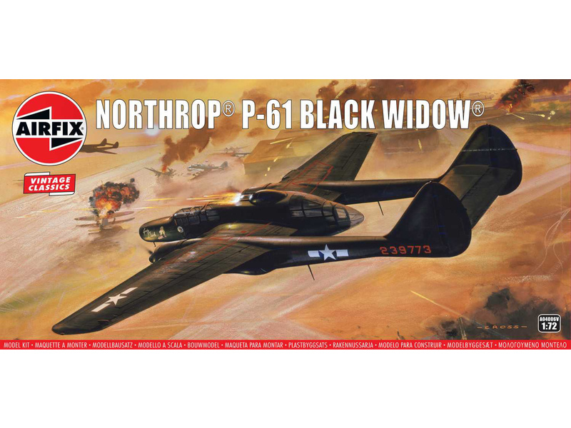 Airfix Northrop P-61 Black Widow (1:72) (Vintage)
