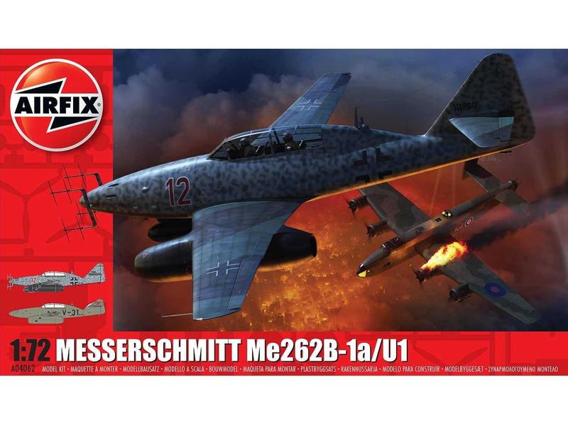 Airfix Messerschmitt Me262B-1a (1:72)