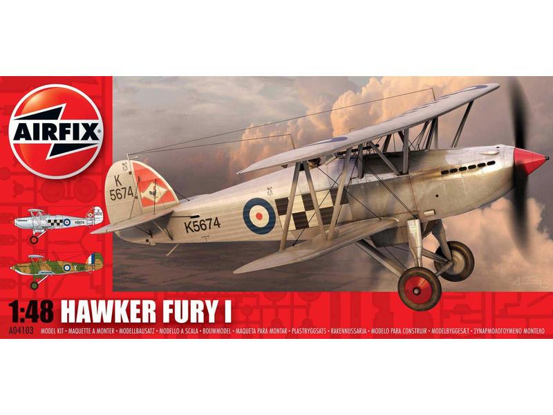 Airfix Hawker Fury (1:48)