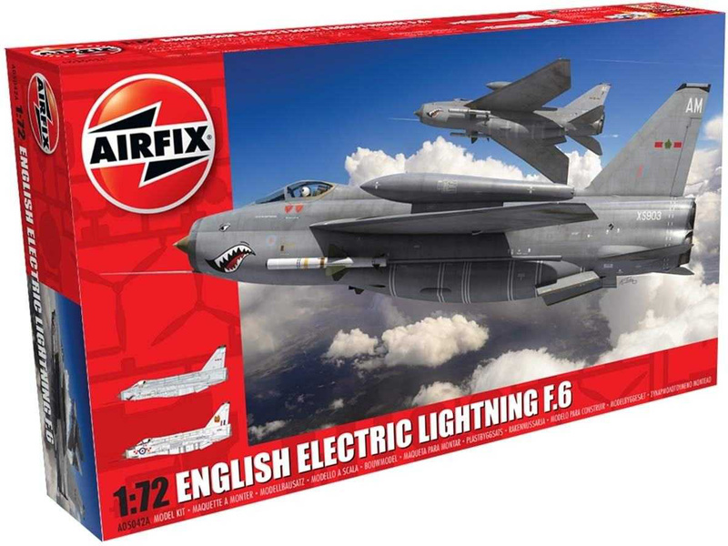 Airfix English Electric Lightning F6 (1:72)