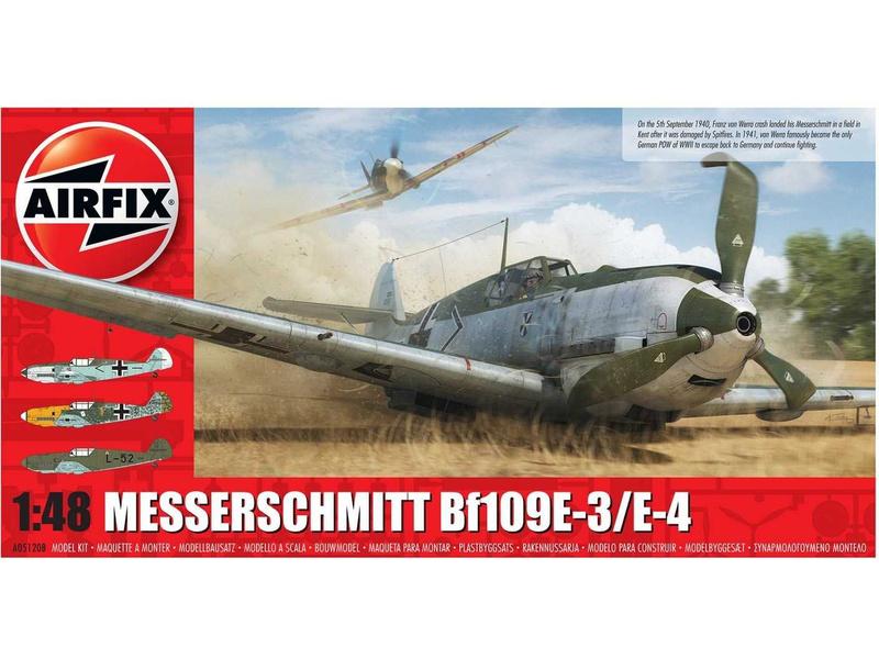 Airfix Messerschmitt Bf-109E-3/E-4 (1:48)