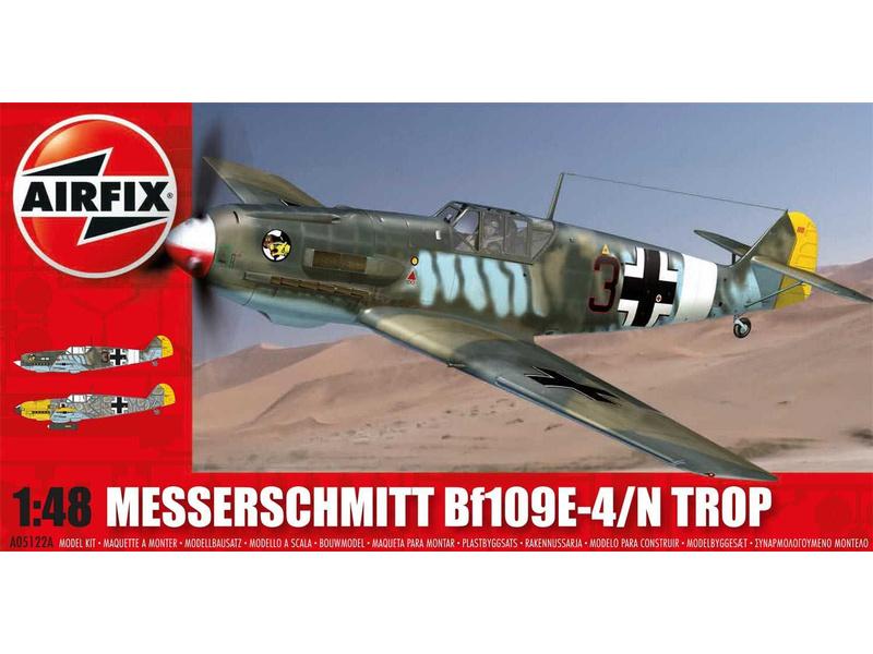 Airfix Messerschmitt Bf-109E Tropical (1:48)