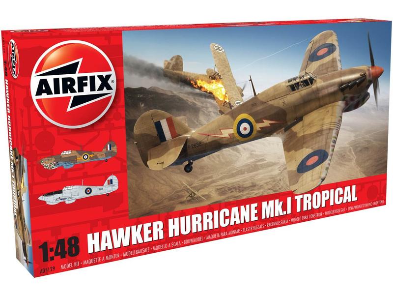 Airfix Hawker Hurricane Mk1 Tropical (1:48)