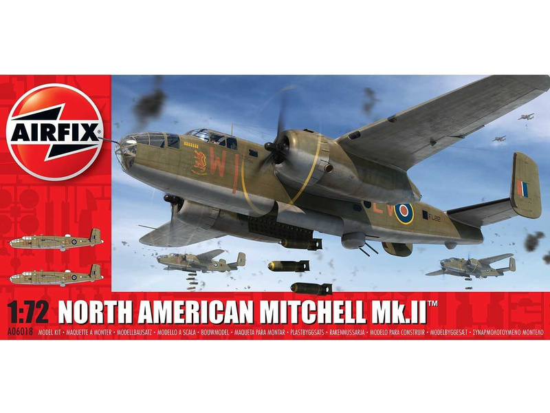 Airfix North American Mitchell Mk.II (1:72)