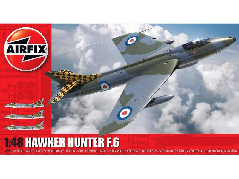 Airfix Hawker Hunter F6 (1:48)