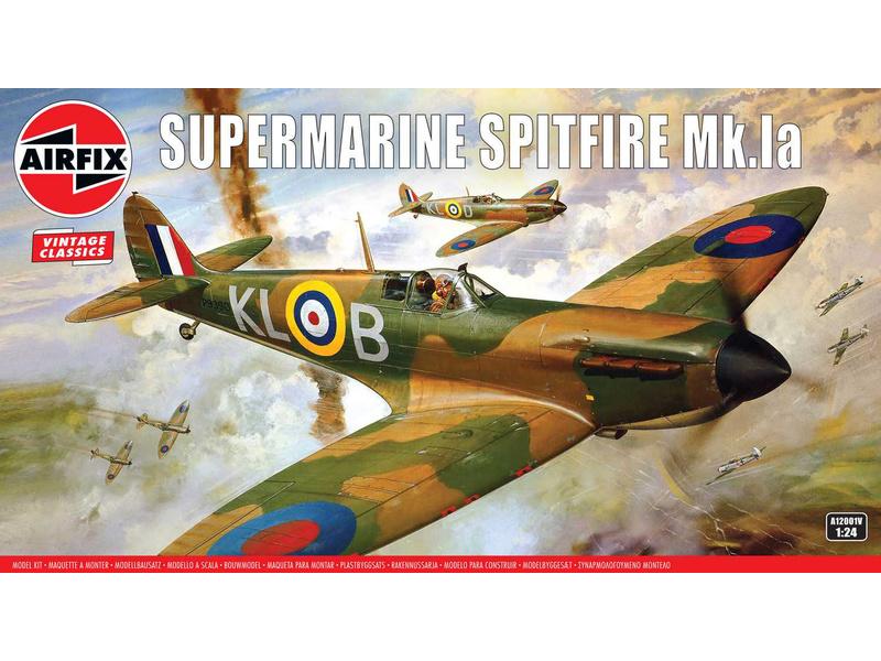 Airfix Supermarine Spitfire Mk1a (1:24) (vintage)