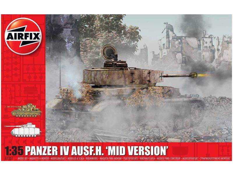 Airfix Panzer IV Ausf.H, Mid Version (1:35)