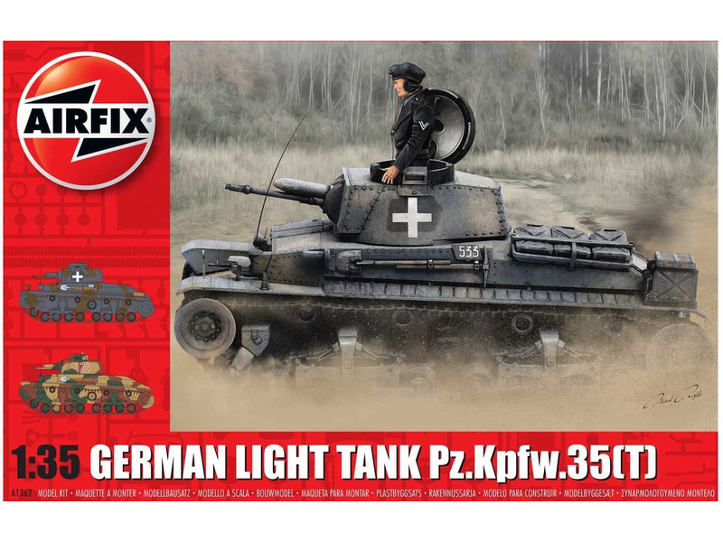 Airfix German Light Tank Pz.Kpfw.35(t) (1:35)