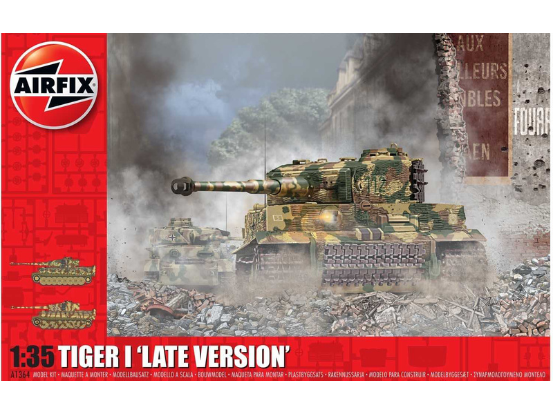Airfix Tiger-1 Late Version (1:35)