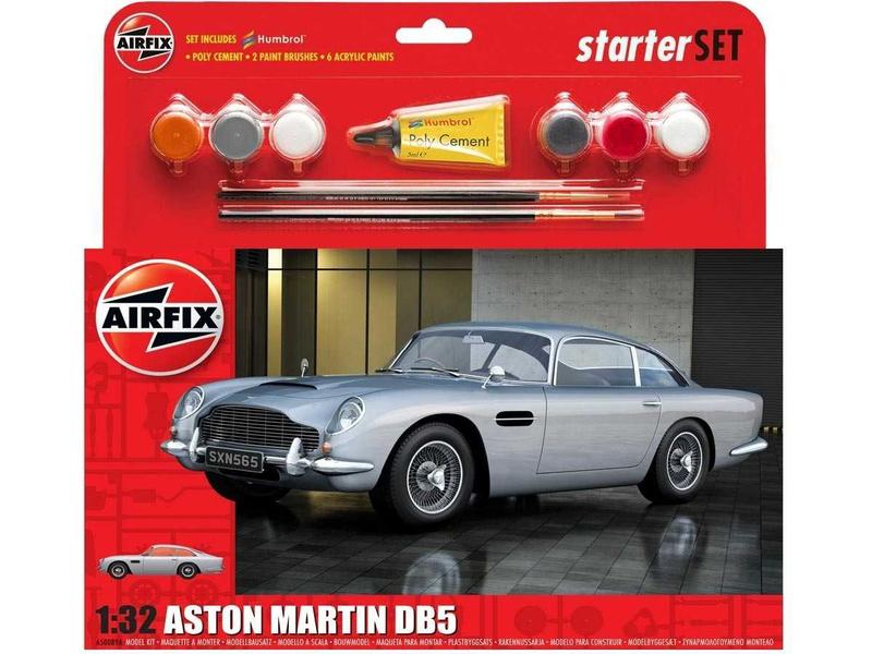 Airfix Aston Martin DB5 Silver (1:32) (sada)