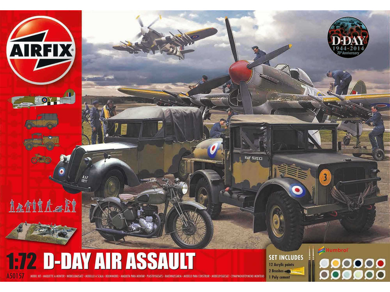 Airfix D-Day Air Assault 75. výročí (1:72) (Giftset)