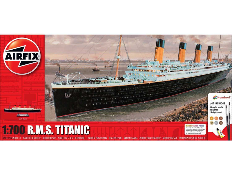Airfix RMS Titanic (1:700) (giftset)