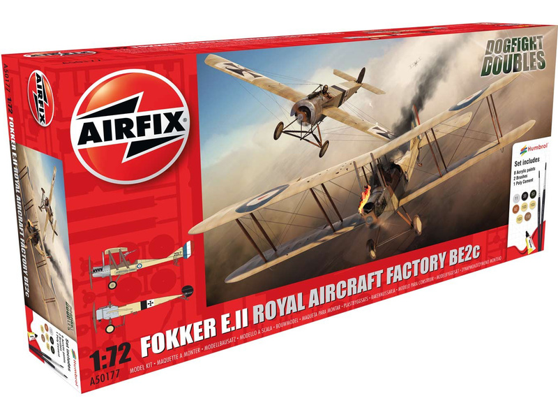 Airfix Fokker EII/BE2c Dog Fight Double (1:72)