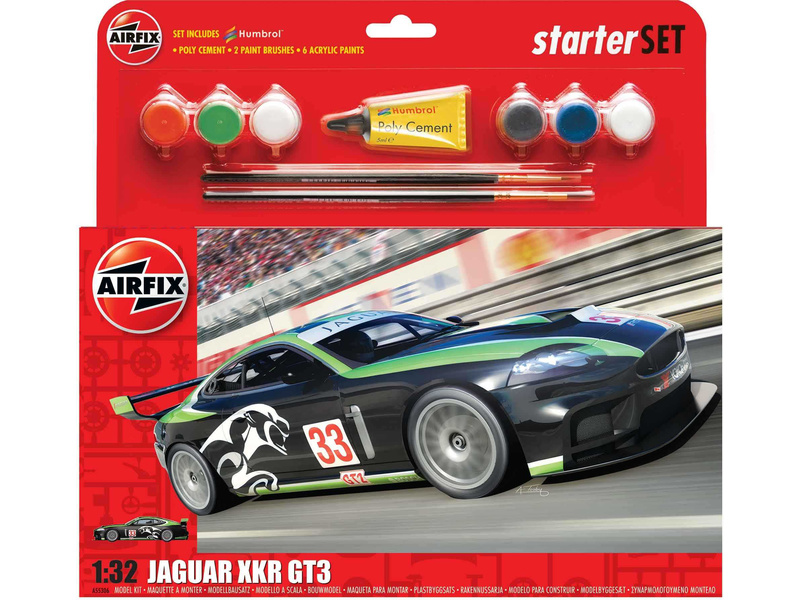 Airfix Jaguar XKRGT3 Fantasy Scheme (1:32) (set)