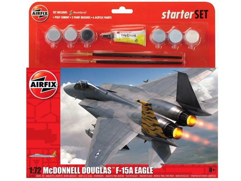 Airfix McDonnell Douglas F-15A Eagle (1:72) (sada)