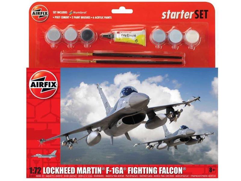 Airfix General Dynamics F-16A/B Fighting Falcon (1:72) (sada)