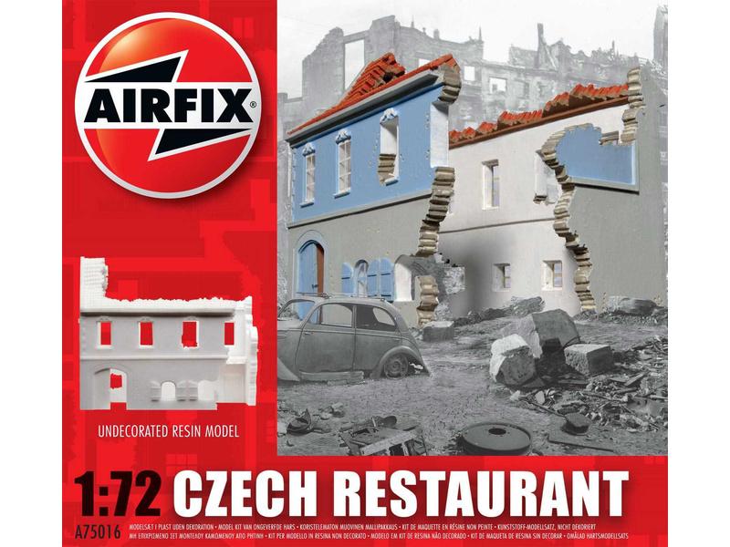 Airfix česká restaurace (1:72)