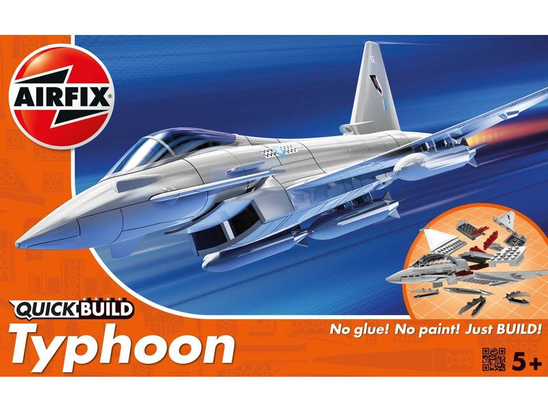Airfix Quick Build Eurofighter Typhoon