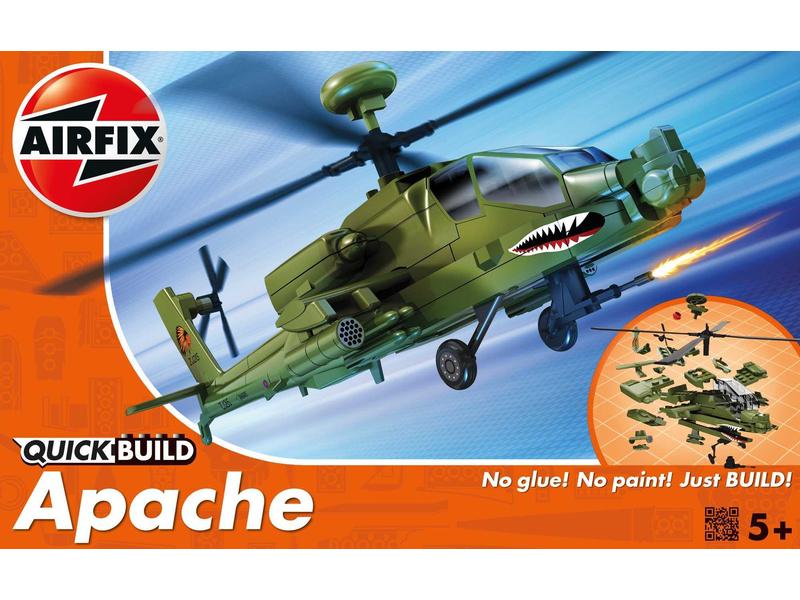Airfix Quick Build vrtulník Boeing Apache