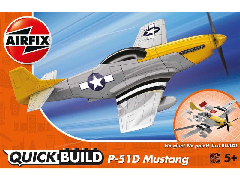 Airfix Quick Build P-51D Mustang