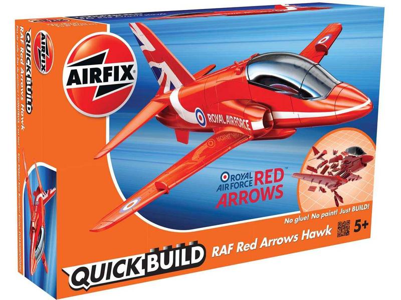 Airfix Quick Build RAF Red Arrows Hawk
