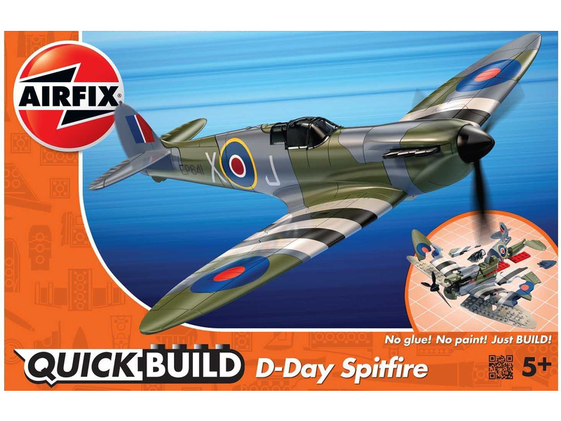 Airfix Quick Build - D-Day Spitfire