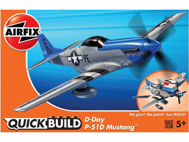 Airfix Quick Build - North American P-51D Mustang D-Day